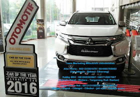 promo cashback all new pajero sport 2016