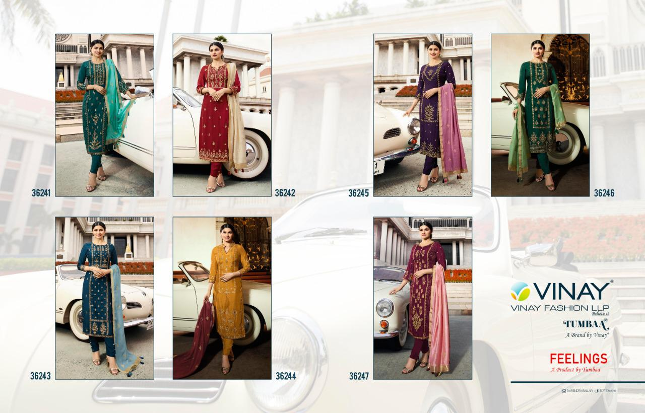38bef73b8a Zeels Creations: Tumbaa Feelings by Vinay Fashion Readymade Suits ...
