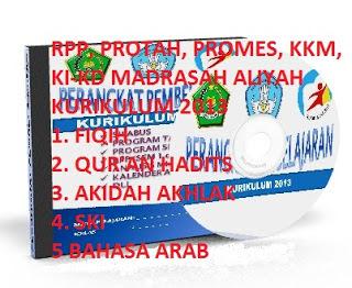 Download RPP Aqidah Akhlak MA Kelas X Kurikulum 2013 Revisi 2016, Contoh RPP Aqidah Akhlak MA Kelas X Kurikulum 2013 Revisi 2016