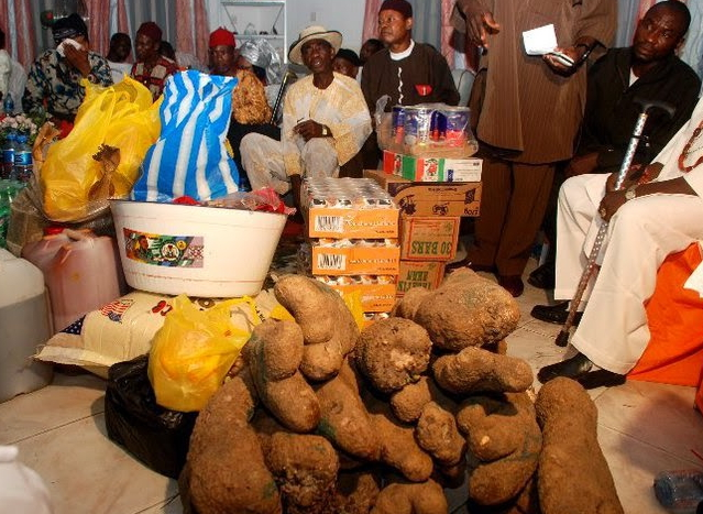 men banned paying N100K bride price