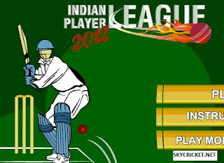 Indian Player League 2012 Game