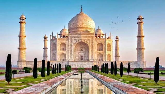 Bangunan Ikon Dunia Taj Mahal