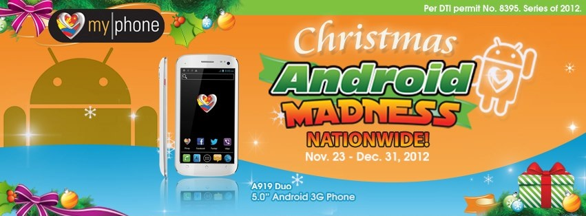 MyPhone Christmas Android MADNESS Promo