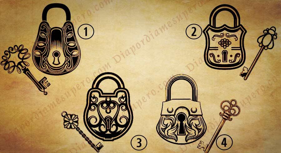 Test: Elige un  candado para revelar tu llave de personalidad