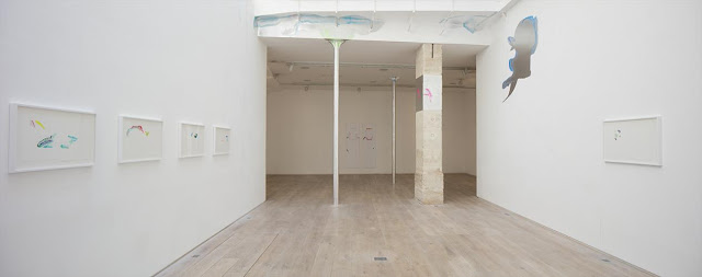 Exhibition view  Mari Minato, 2017, Galerie Eric Dupont. Photographer  Jean-François Rogeboz, © galerie Eric Dupont, Paris.