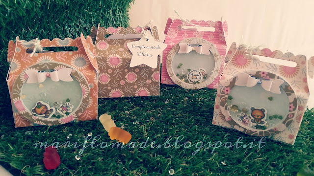 treat box, lawn fawn, shaker, mama elephant, birthday, favors, bigshot, party, girl