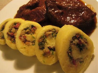 Knedle s pancetom / Dumplings with pancetta