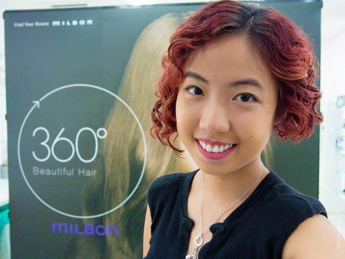 Review: 360\u00b0 Beautiful Hair, with the Global Milbon Smooth hair treatment! It\u002639;s my life.