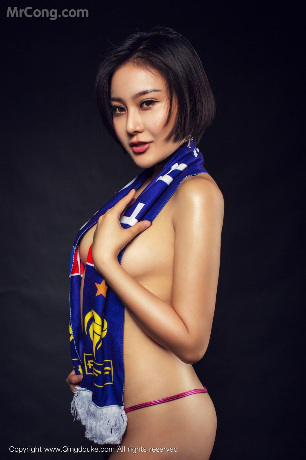 Image MrCong.com-QingDouKe-2016-11-17-Chan-003 in post QingDouKe 2016-11-17: Người mẫu Chan (婵) (44 ảnh)