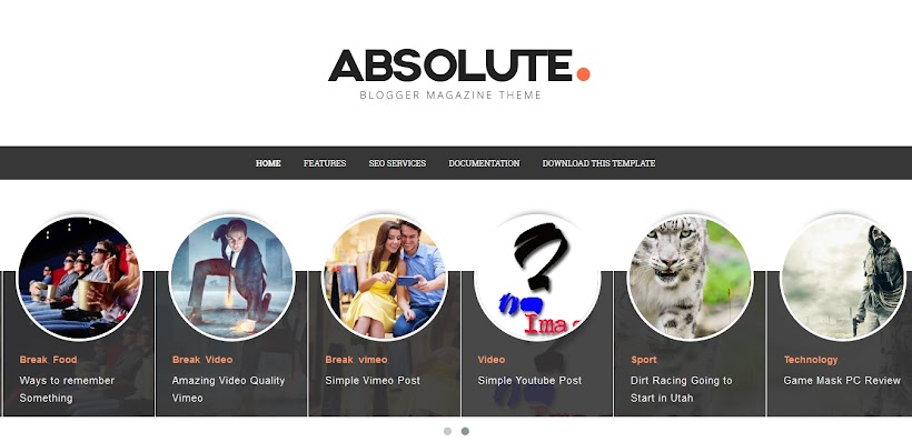 Absolute Free Blogger Template