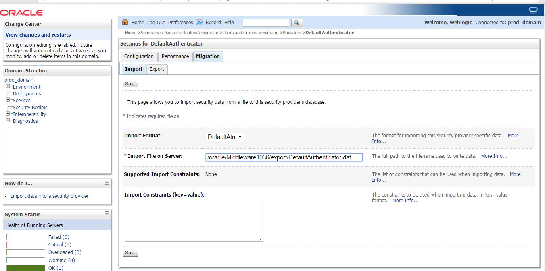 weblogic 12.1.3.0