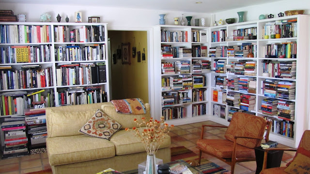 Mitchell Kaplan's home library