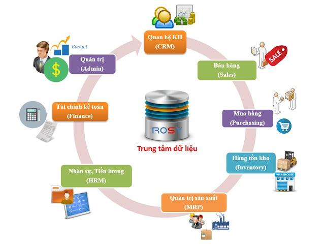 Phần mềm ERP dựa trên giải pháp ERP cho ngành kế toán