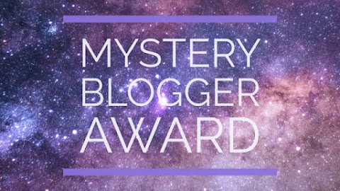 TAG POST: MYSTERY BLOGGER AWARD