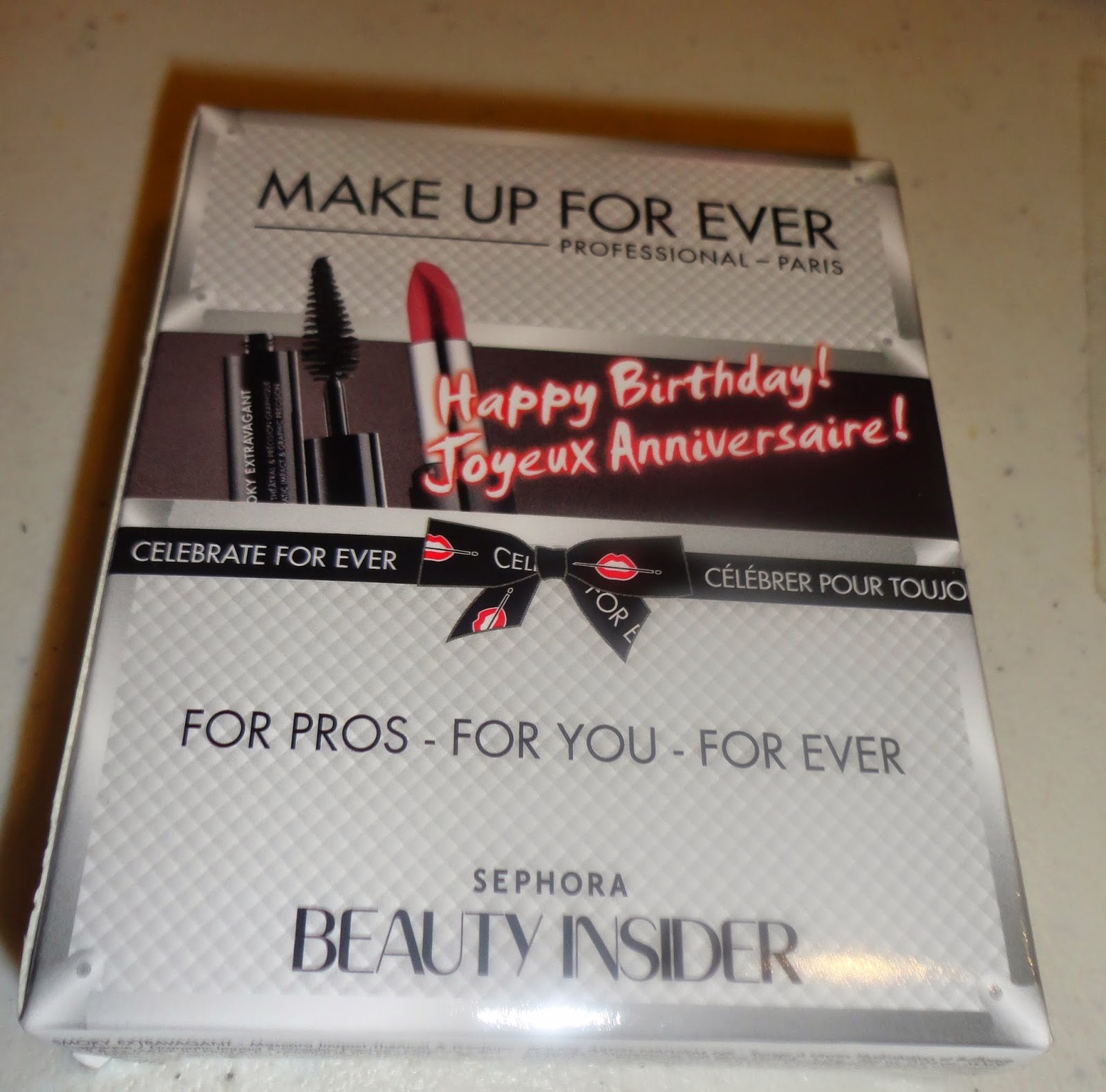Sephora Beauty Insider B'day Gift