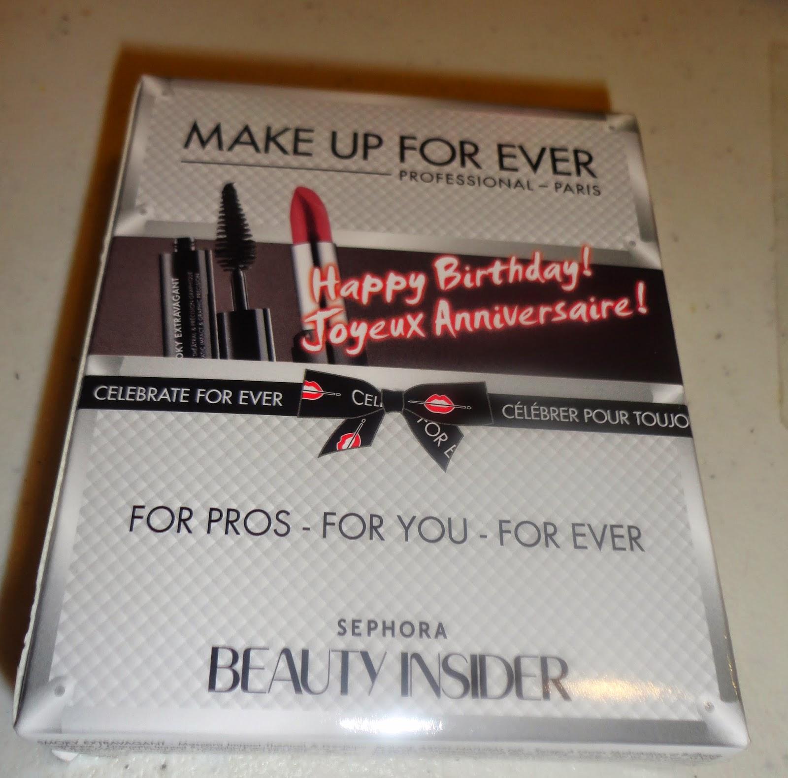 Sephora Beauty Insider B'day Gift