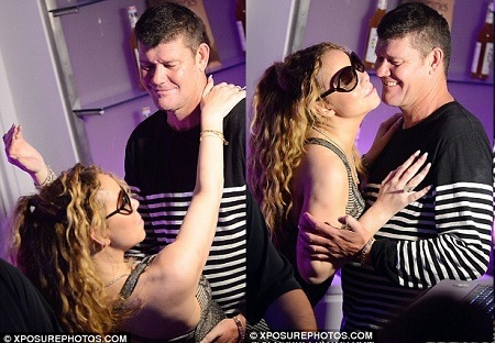 OMG!!! See Moment Mariah Carey's Billionaire Fiance Grabs Her Boobs and Bum While Dancing (Photos)