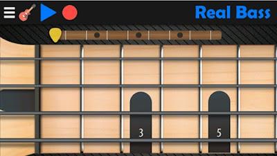 aplikasi belajar musik real bass