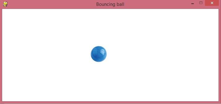 Programming: Bouncing ball, python