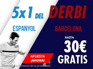 suertia promocion Espanyol vs Barcelona 8 diciembre
