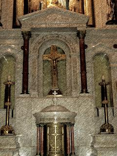 Altar do Pantéon de los Héroes, em Assunção, Paraguai
