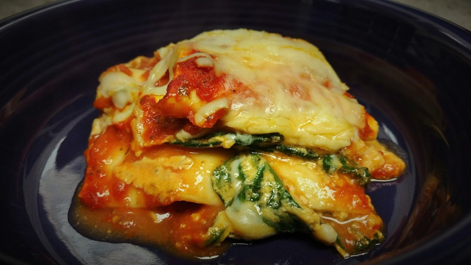 Creamy Spinach and Pumpkin Lasagna