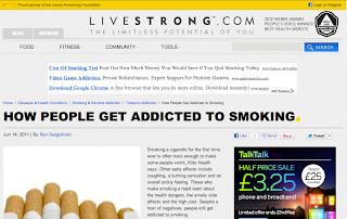 Sarah Pritchard - Design Practice: Smoking - Addiction