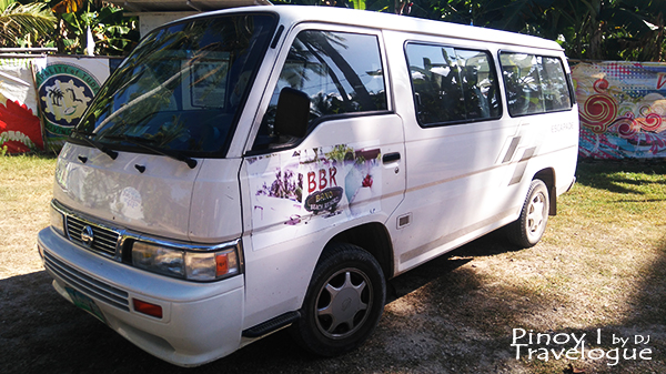 Bano Beach Resort's shuttle service