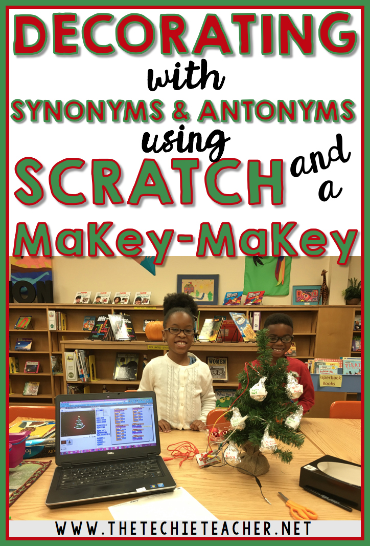 Decorating With Synonyms And Antonyms Using Scratch And MaKeyMaKey - Paint synonym