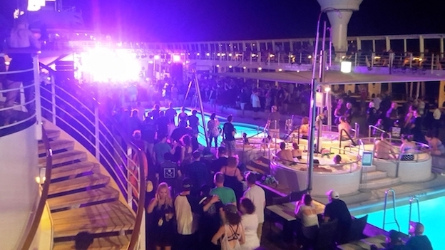 The Offspring on a cruise ship