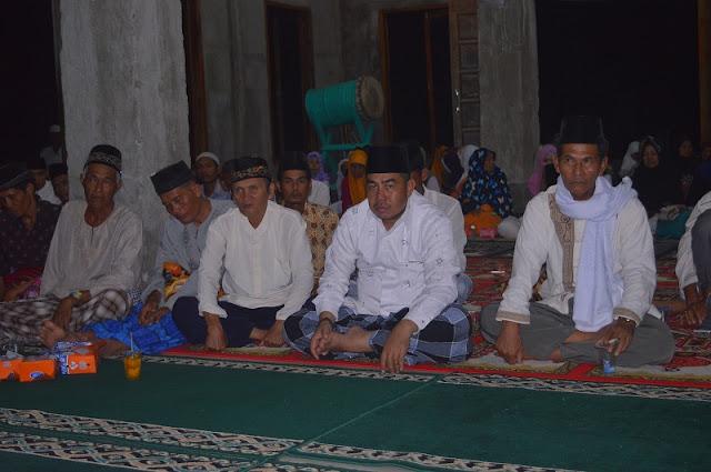 Asisten 1 Bupati OI Safari Ramadhan di Desa Rantau Panjang Ilir