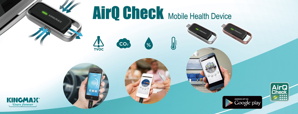 Kingmax AirQ Check Mobile Health Device