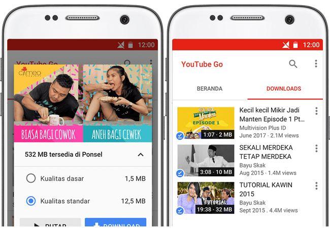 Google Jadikan Indonesia Target Pasar Berikutnya untuk YouTube Go