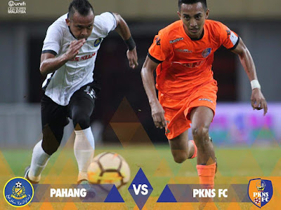 Live Streaming Pahang vs PKNS FC Liga Super 21.7.2018