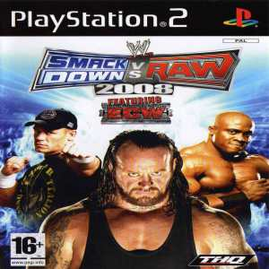 WWE Smackdown Vs Raw 2008 For PC