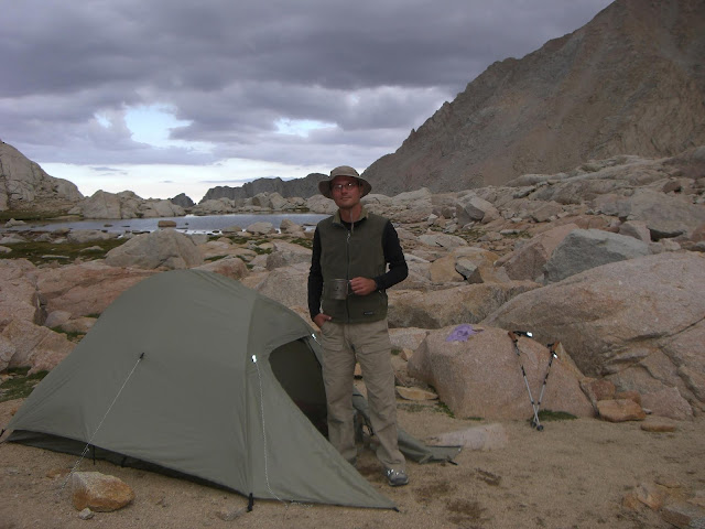 Jason Klass at Mt. Whitney Basecamp