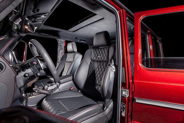 Nội thất Mercedes AMG G63 thiết kế ấn tượng, đẳng cấp