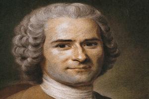 Retrato de Jean-Jacques Rousseau, uno de los máximos exponentes del movimiento ilustrado