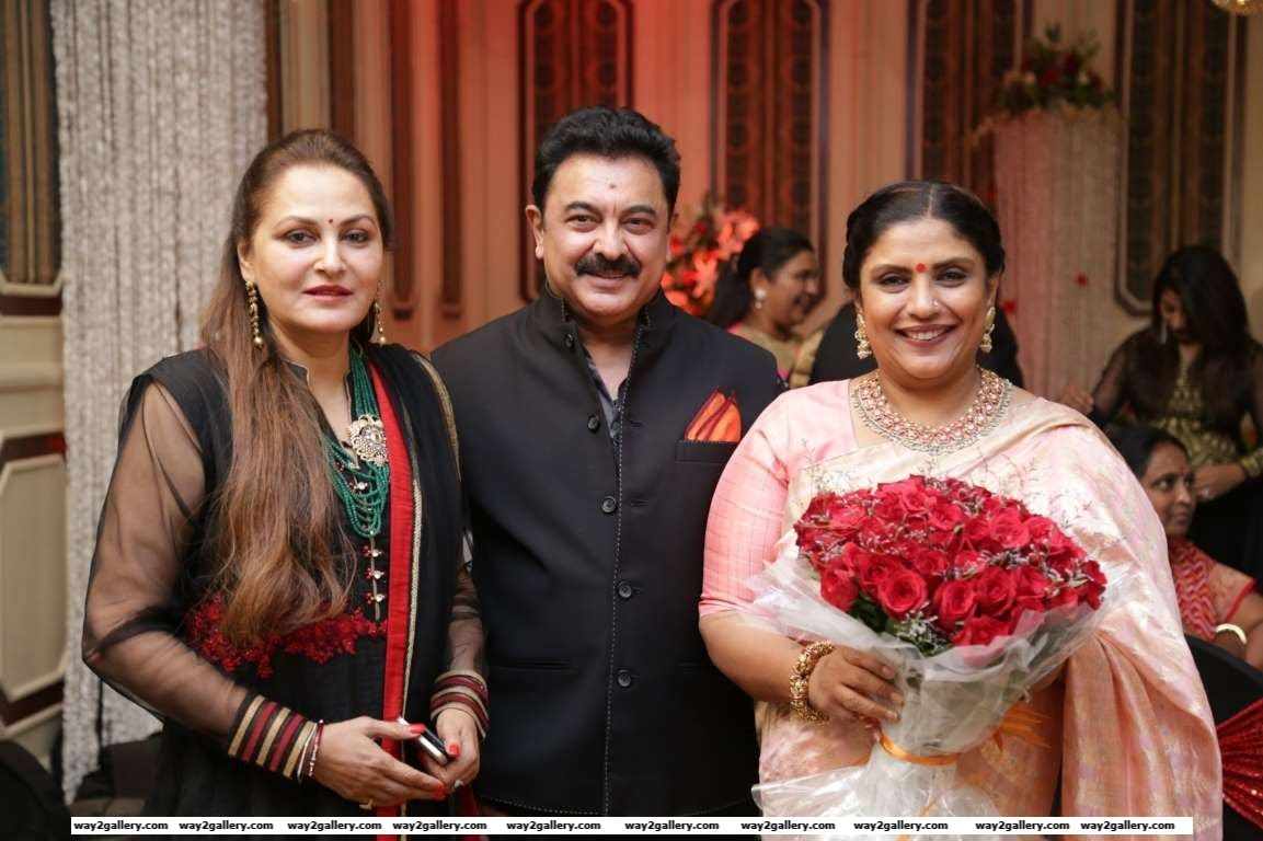 Jaya Prada attended Sripriya and Rajkumars th wedding anniversary celebration