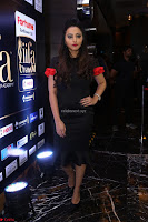Meghana Gore looks super cute in Black Dress at IIFA Utsavam Awards press meet 27th March 2017 37.JPG