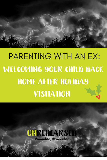 Parenting with an Ex Series: Welcoming Your Child Back Home After Holiday Visitation
