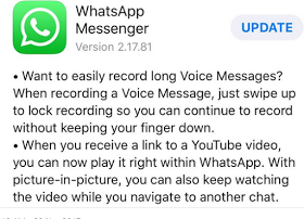 WhatsApp 2.17.81 Update for iOS Comes With two new Features - alltechvibes.com.ng
