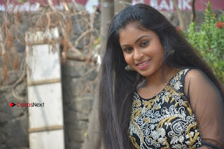 Tamil Actress Shreya Sri Stills in Black Akarkali Dress at Vanga Vanga Team Interview  0027.jpg