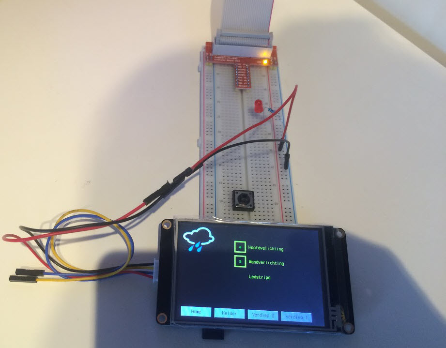 Connect Nextion HMI to raspberry Pi   Projects