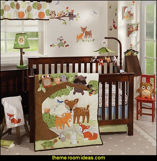 Woodland Tales 5 Piece Baby Crib Bedding Set