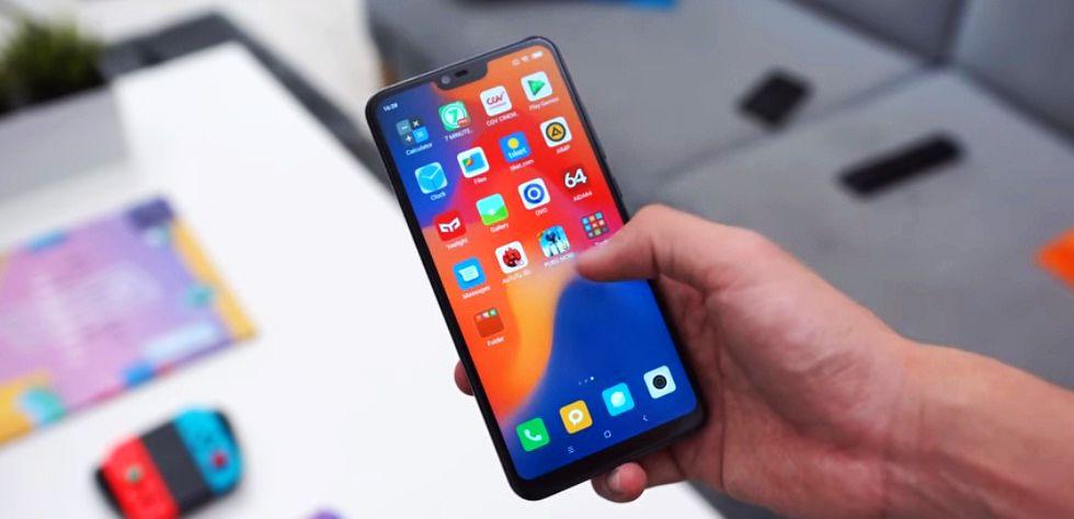 smartpone Xiaomi Mi 8 Lite