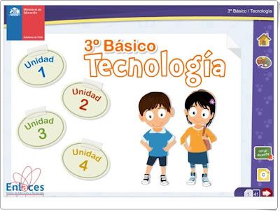 """""""Libro digital de Tecnología de 3º de Primaria"""" (Ciencias Naturales de Primaria)"""