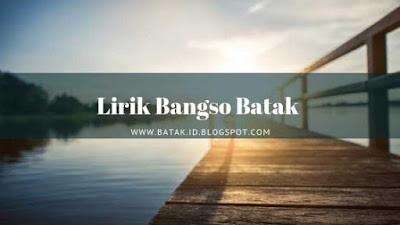 Lirik Bangso Batak