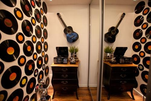 El blog del tavo p ideas para reciclar viejos discos de - Decoracion con discos de vinilo ...