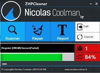 برنامج, حذف, وازالة, الادوات, والاضافات, التى, تبطء, اداء, المتصفحات, ZHPCleaner, اخر, اصدار